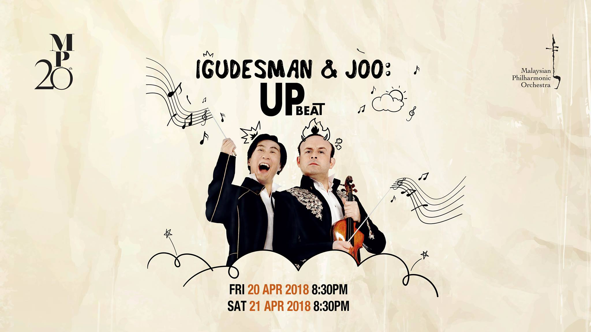 Igudesman & Joo: UpBeat - 20 & 21 April