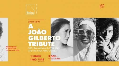 BoboKL presents: A João Gilberto Tribute