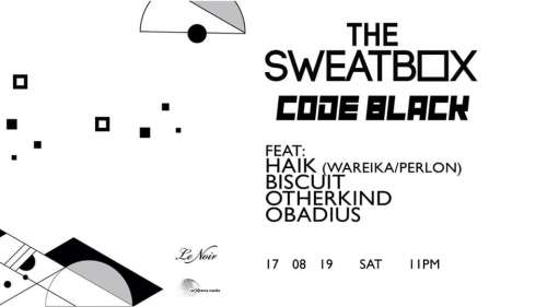 The Sweatbox- Code Black feat Haik (Wareika, Perlon)