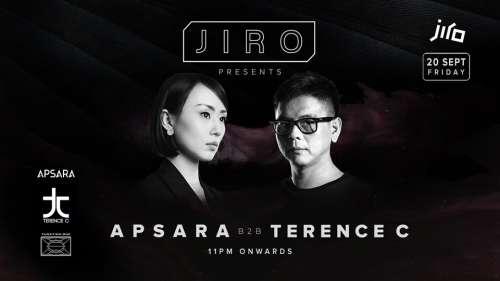 JIRO KL pres. Apsara b2b Terence C