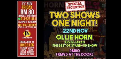 Two Shows One Night with Ollie Horn