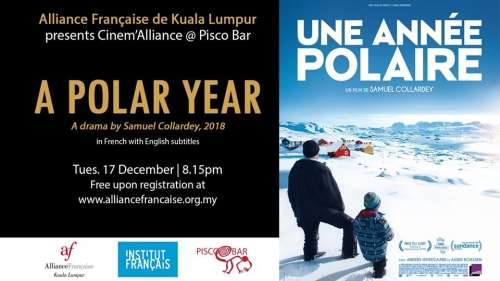 Cinem'alliance at Pisco Bar: A Polar Year