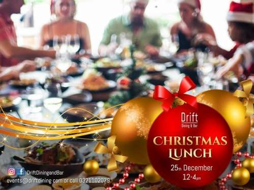 Christmas Day Lunch at Drift Dining & Bar