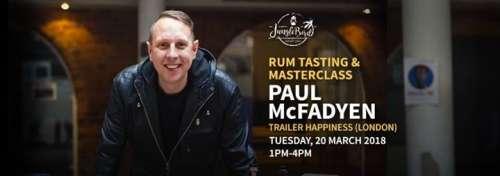 Rum Tasting & Masterclass with Paul McFadyen