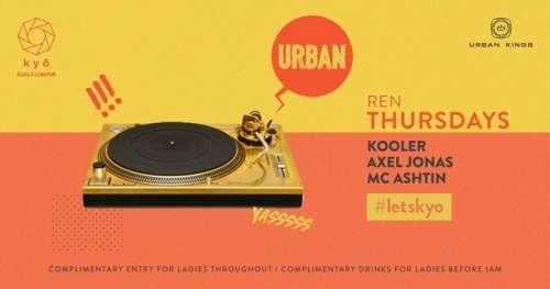 URBAN with Kooler // Axel Jonas & MC Ashtin