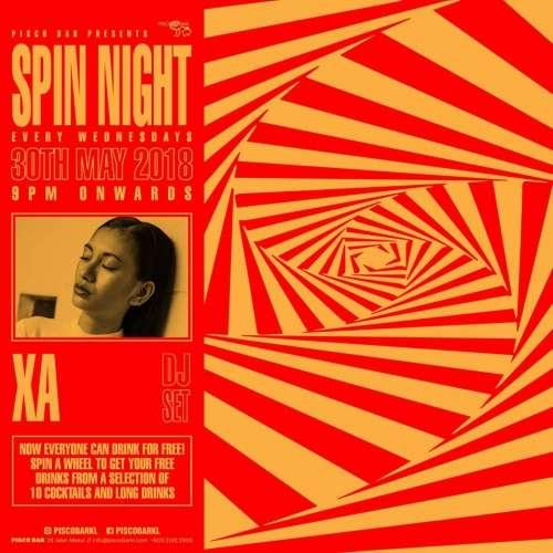 Spin Night pres. XA
