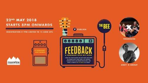 Feedback Open Mic ft Theseguise & Andy Group