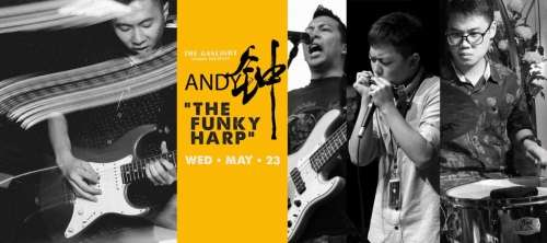 Andy 鐘 Group : The Funky Harp