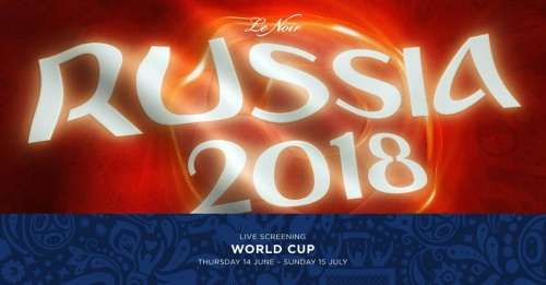 Live Screening: World Cup Russia 2018