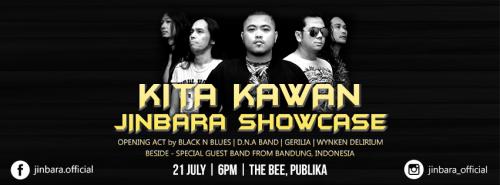 Kita Kawan Jinbara Showcase