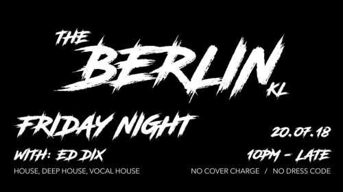 Friday Night - DJ Ed Dix!