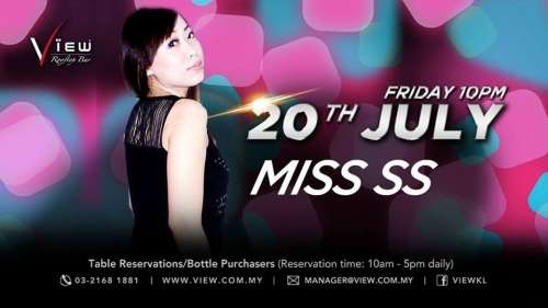 Friday Party with DJ Miss SS