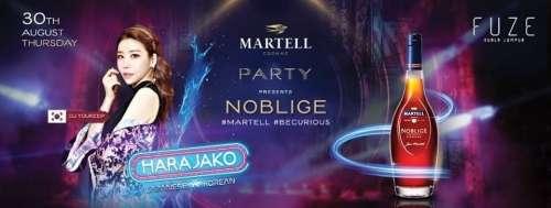 Martell Cognac pres. Noblige Harajako Party