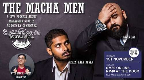 Crackhouse Presents : The Macha Men Podcast Live!