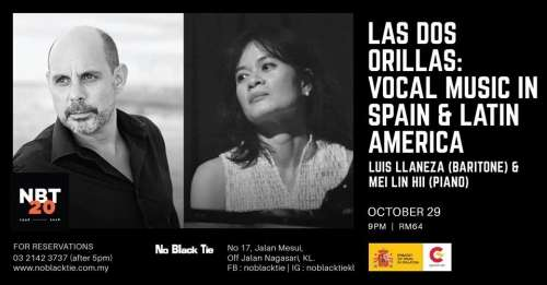 Las Dos Orillas: Vocal Music in Spain and Latin America