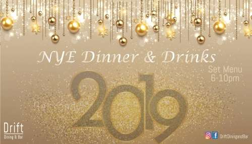 New Year Eve Dinner & Drinks