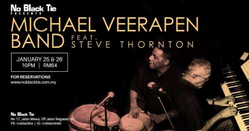 Michael Veerapen Band feat. Steve Thornton