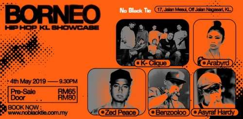 Borneo Hip Hop Showcase KL