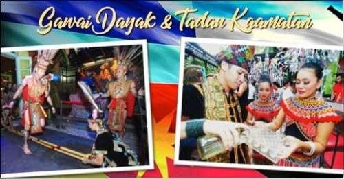 Gawai Dayak & Tadau Kaamatan Festival