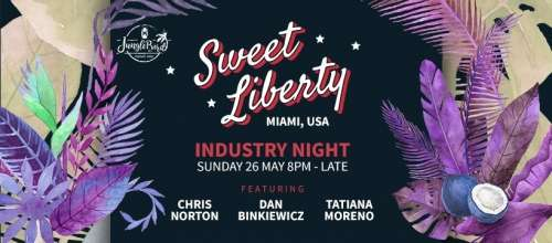 JungleBird Industry Night: Sweet Liberty Miami