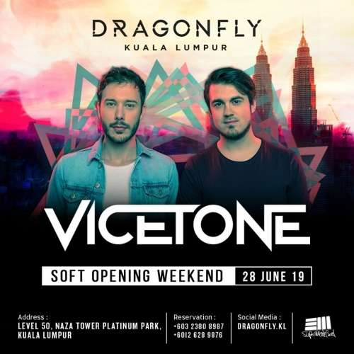 DF Friday presents Vicetone