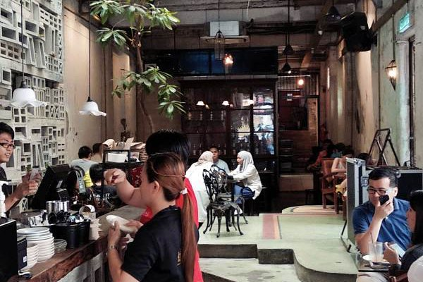 Leaf & Co Jalan Sultan Kuala Lumpur Cafe Review