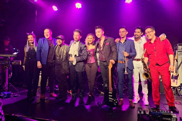 Prince-inspired tribute band Rainbow Children feature for Purple Xmas Party at The Bee