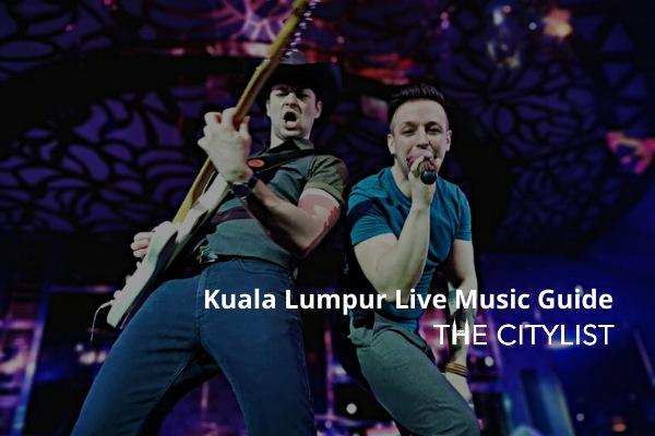Kuala Lumpur Live Music Guide 1 January 2020