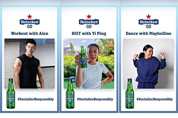 Heineken® 0.0 Launch Home Workout via IGTV to Ensure Malaysians Socialise Responsibly