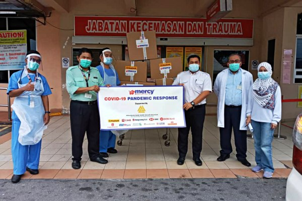 Shang Parlour Organises two-week campaign to raise monetary assistance for MERCY Malaysia