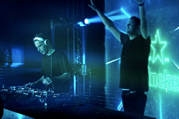 "Heineken® Starclub NYE with W&W ""Times like these ask for creative solutions"""