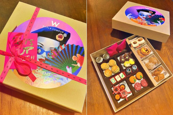 Review: W Kuala Lumpur Welcomes Year Of The Ox With Exquisite Pop Art Tea Box