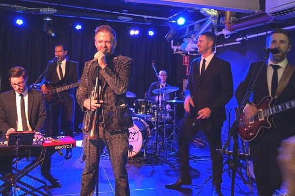 Adam Hall & The Velvet Playboys at No Black Tie 21-22 June 2018