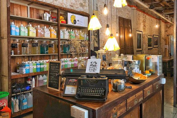5 Of The Best Picturesque Cafes Around Petaling Street for Selfies