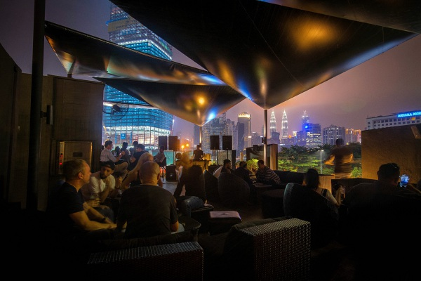 House of Chemistry with DJ SS, RJ, Low & Mamadayok at Le Noir KL Roof 16 March 2019