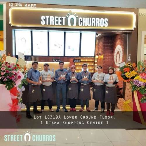 Street Churros 1 Utama Mall