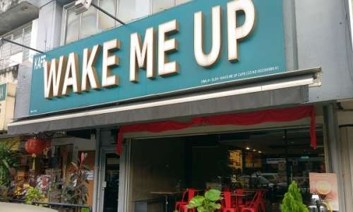 Wake Me Up Cafe