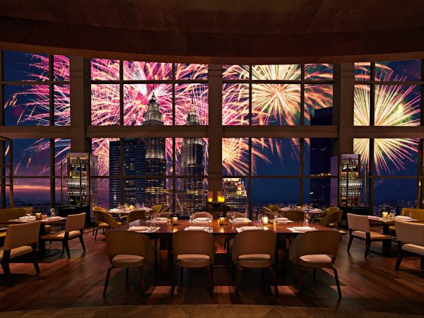 Grand Hyatt at Best Dinner Parties to spend New Year's Eve in Kuala Lumpur 2020