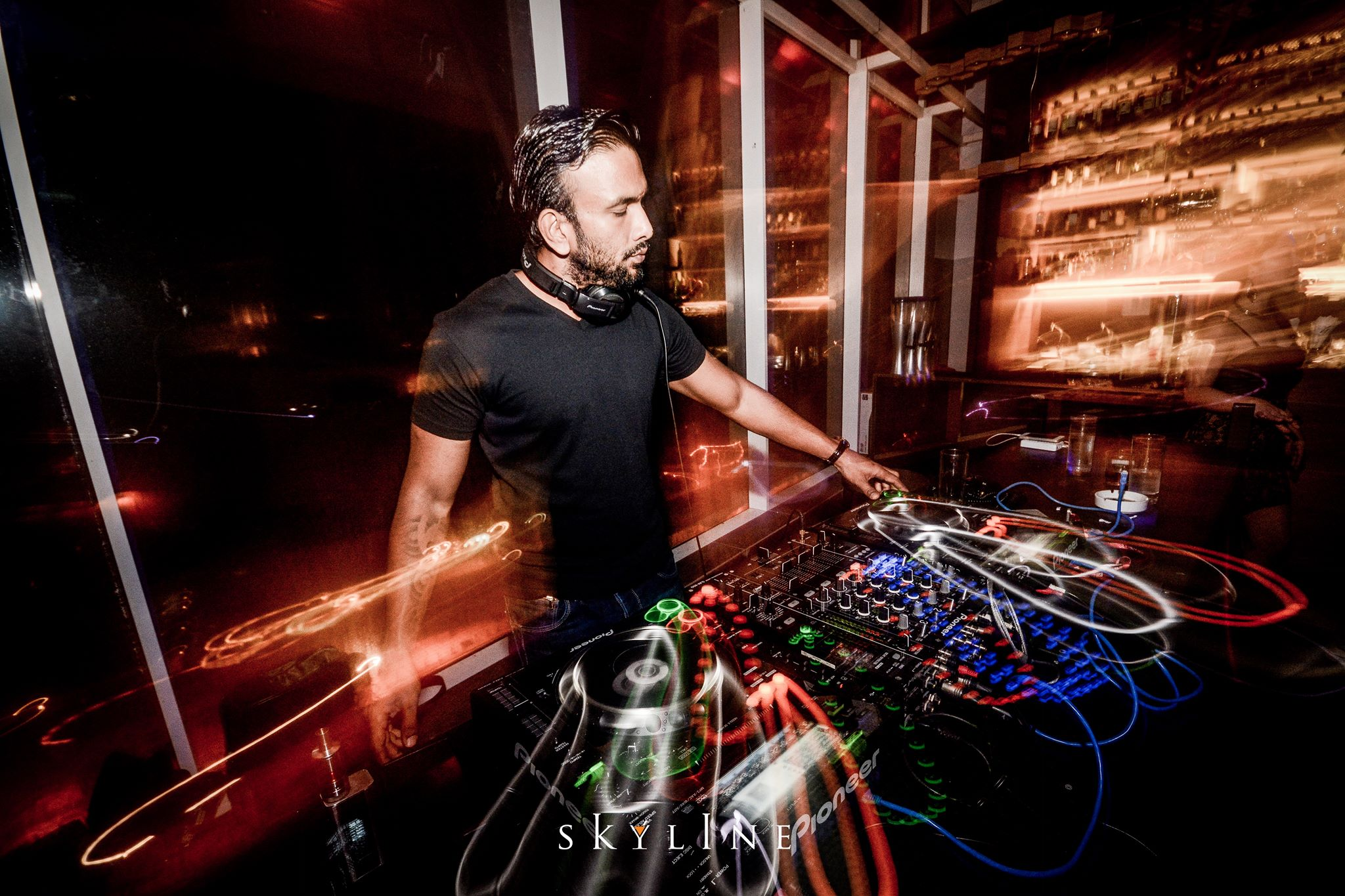Alex Martin at Ren Room Club Kyo KL Mandarin Oriental Hotel