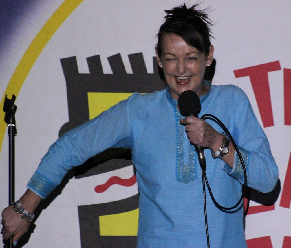 Mandy Knight at Crackhouse Comedy Club KL