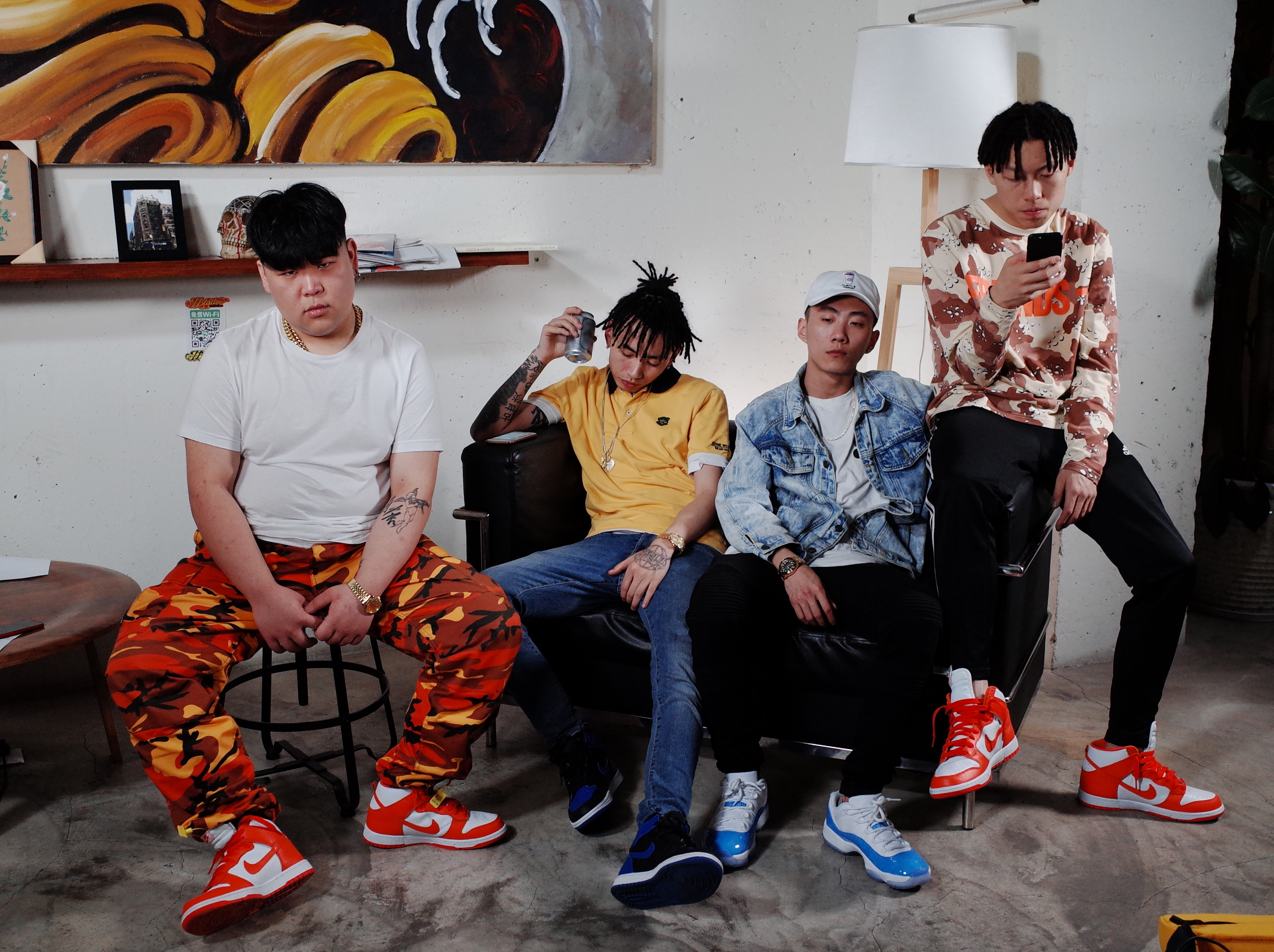 Chengdu based Higher Brothers in Kuala Lumpur 9 December 2017