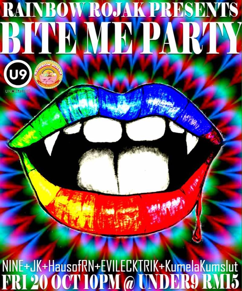 Rainbow Rojak presents Bite Me Party