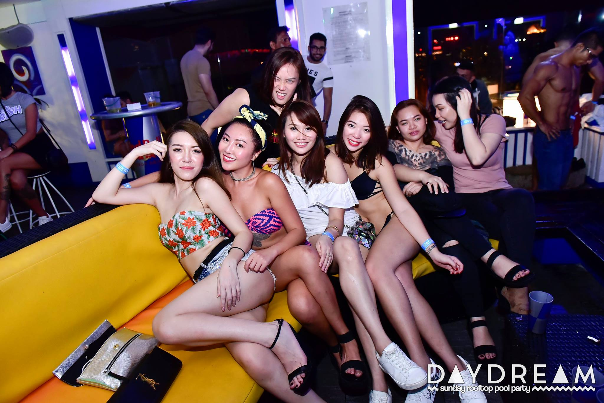Day Dream Pool party at Luna bar Kuala Lumpur