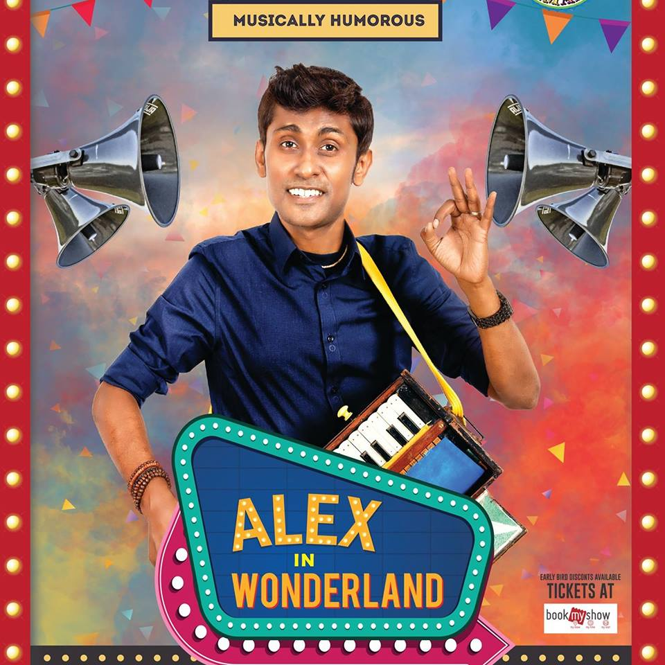 Alexander the Comic live at The Kuala Lumpur Convention Centre