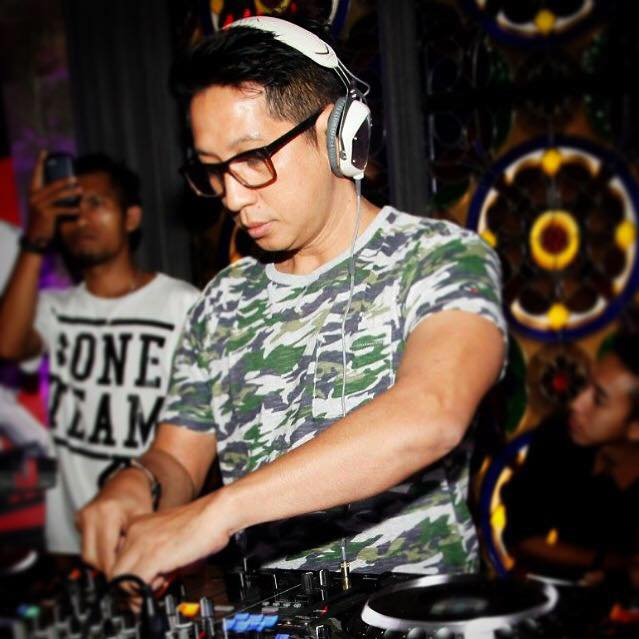 Dj James Hendrick at Day Dream Pool party at Luna bar Kuala Lumpur