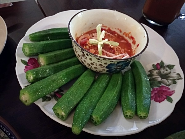 Steamed okra with sambal at Big Baba Taman Desa | Kuala Lumpur Best Restaurants Review 2018