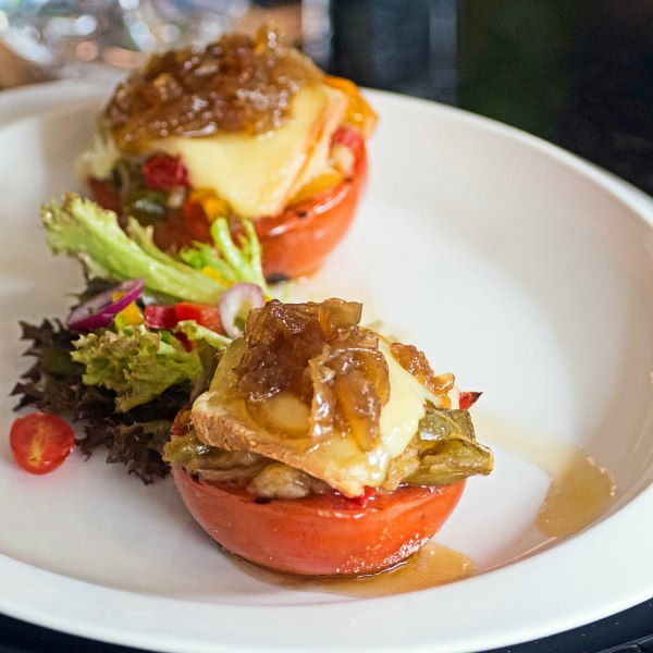 Raclette on roasted vegetables at Chez Gaston Bangsar: Exquisite French Fine Dining in a Casual Setting