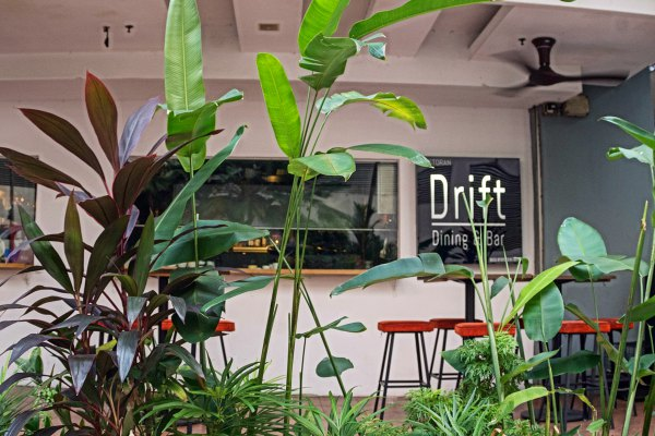Drift Dining & Bar Signboard - Drift Dining and Bar | Kuala Lumpur Best Restaurant Review 2019