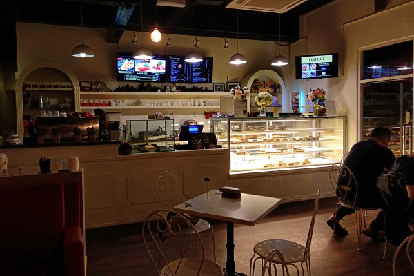 Counter inside of Patisserie Taman Desa | Kuala Lumpur Best Cafes Review 2018