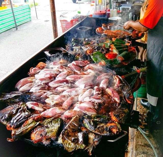 Ikan Bakar Bellamy off, Lorong Bellamy Kuala Lumpur Malaysia